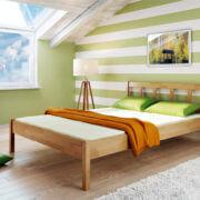 Łóżko bukowe Lilo