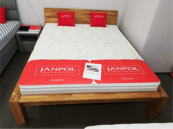łóżka dębowe do sypialnii