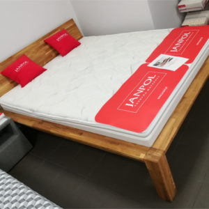 łóżko do sypialnii dąb