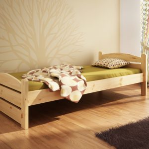 Łóżko sosnowe Svenja