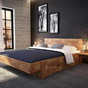 Łóżko dębowe Vigo