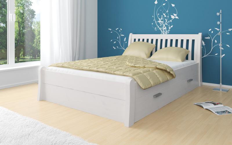 Białe łóżko i biała sypialnia czyli o aktualnym trendzie