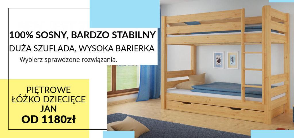 łóżko piętrowe Szczecin