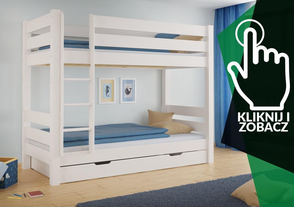 Kraków łóżko piętrowe