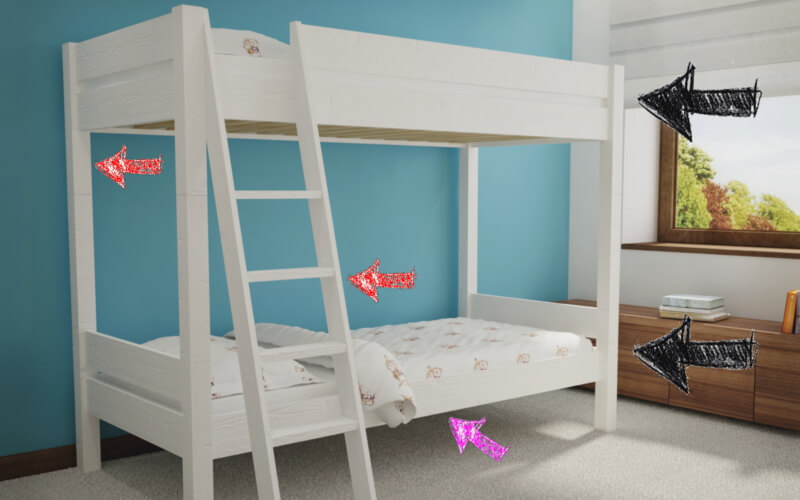 Kiedy łóżko piętrowe dla dziecka
