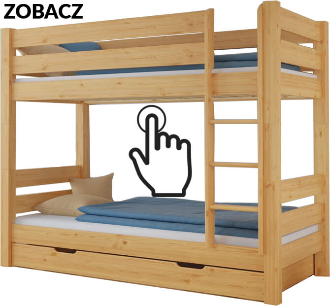szczecin łóżko piętrowe