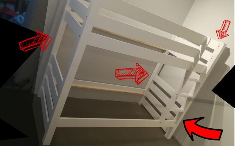 jak kupić solidne łóżko piętrowe