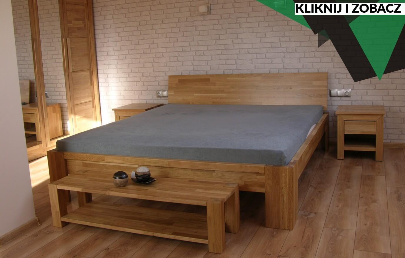 łóżko dębowe Bielsko