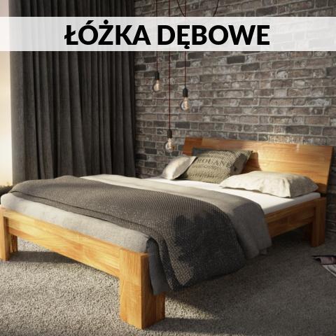 łóżka debowe producent