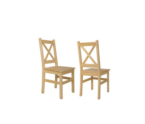 krzesło X