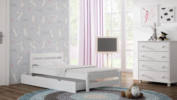 łóżeczko dzieciece z szufladą