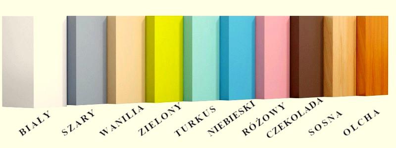 wzornik kolorów wr