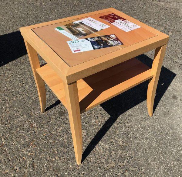 bukowy stolik kawowy