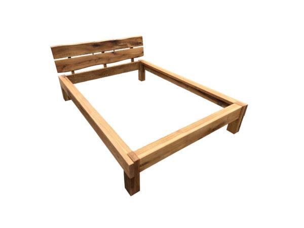 lozko drewniane ładne
