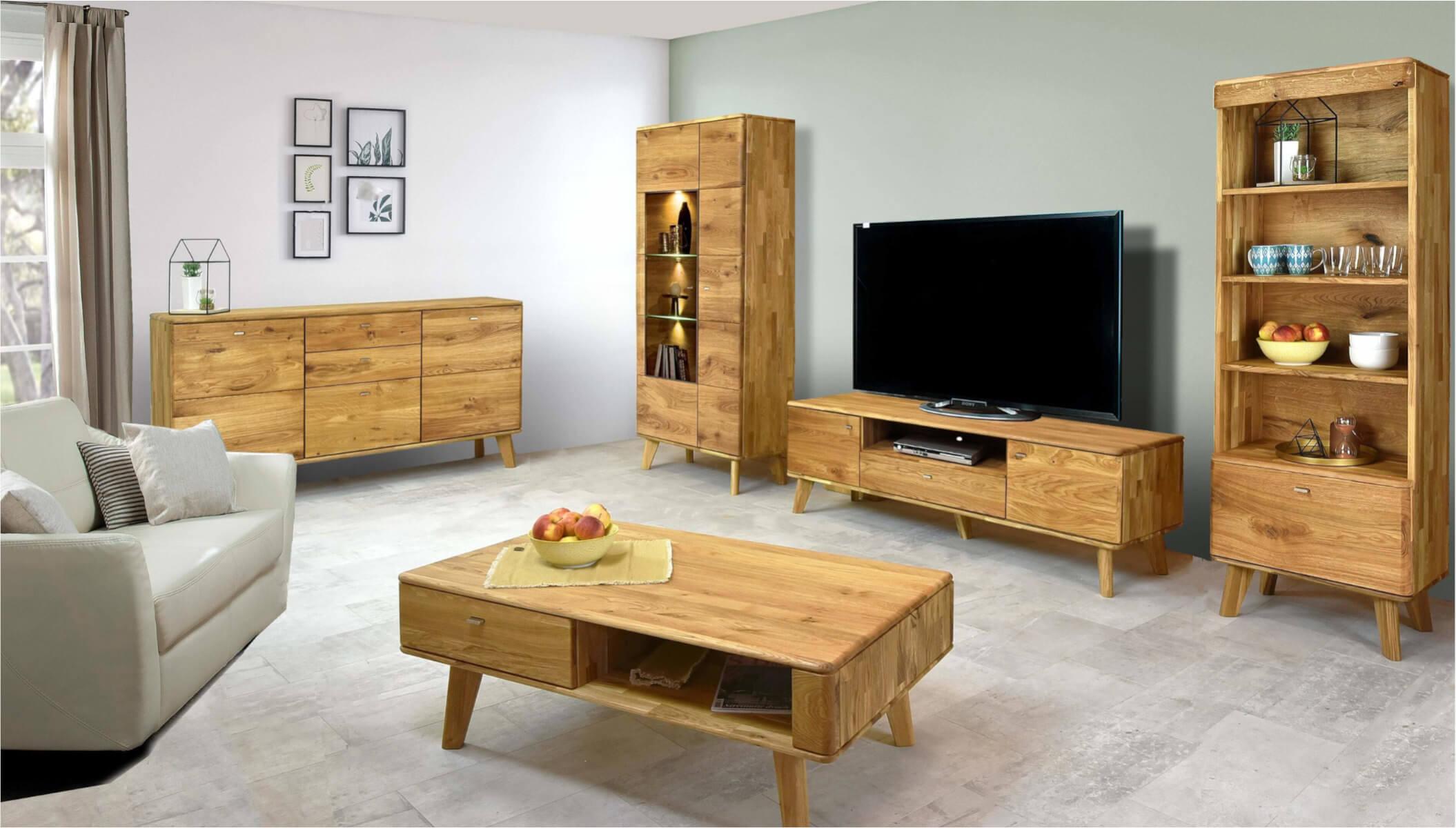 debowe-meble-do-salonu-drewniana-witryna-szafka-stolik