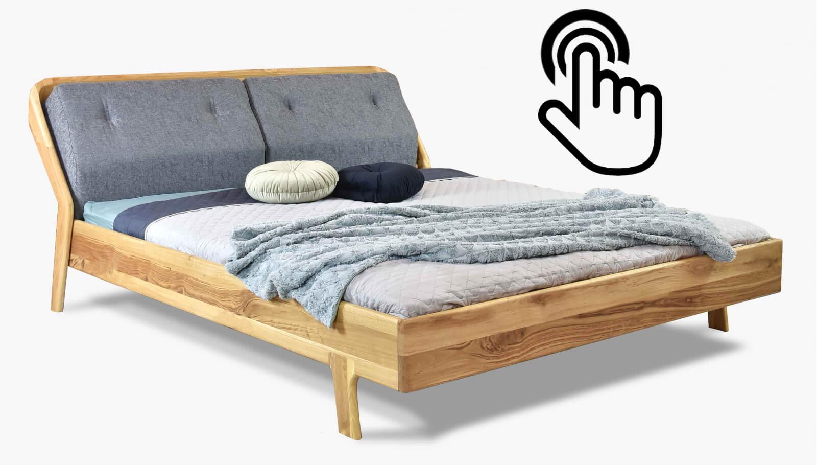luksusowe łóżko do sypialni