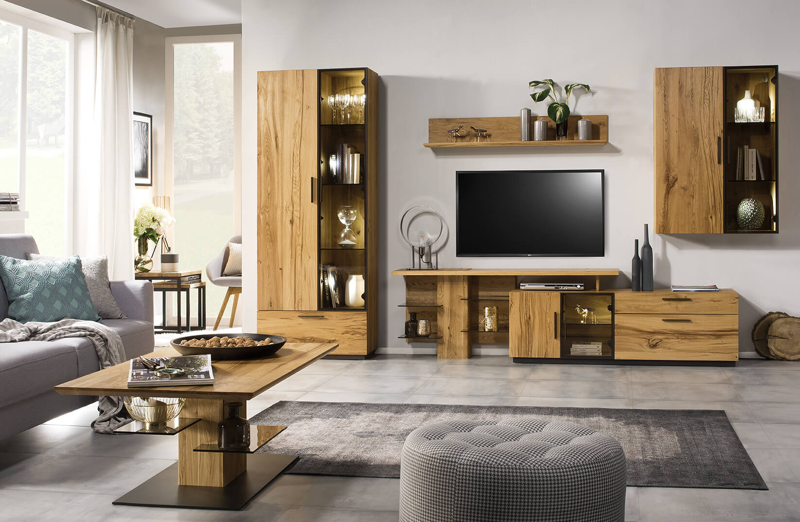 meble-styl-loft-drewno